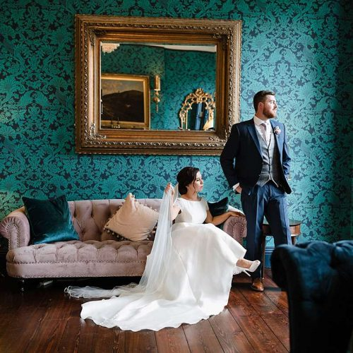 Boyne hill house wedding